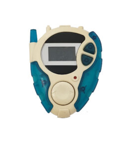 Bandai Digivice D3 Version 2 Blue Back Cover No Screw (1)