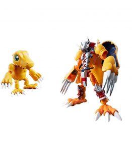 Bandai Digivolving spirits Digimon Agumon Wargreymon Figures BIB 1