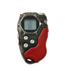 Bandai Digivice D-tector Version 2 Clear Red Pixel USED 5