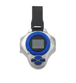 Bandai Digivice D-power Version 1 Blue Color 2 Dark Background (1)