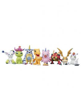 Bandai Digimon Adventure tri HG Partner Collection Figure