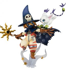 Megahouse GEM Digimon Wizardmon Tailmon (2)
