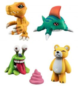 Bandai Digimon Capsule Mascot Collection Mini Figure