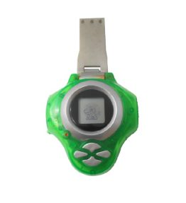 Bandai Digivice D-power Version 2 Green Color USED 2 (1)