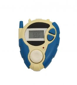 Bandai Digivice D3 Version 1 Blue Veemon Yellowing Trouble Back Cover