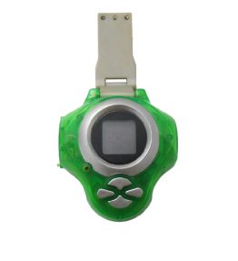 Bandai Digivice D-power Version 2 Green Color USED 3 Dead Pixel (1)