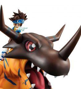 Megahouse GEM Digimon Greymon Taichi Yagami