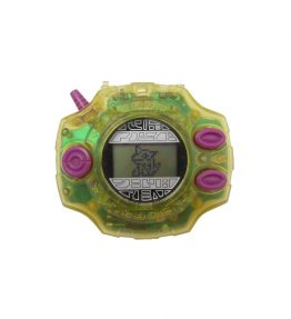 Bandai 1999 Original Digivice D2 US Version 2.0 Yellow Takeru Takishi (1)