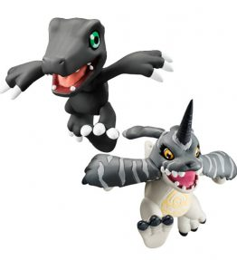 MegaHouse Digicolle Black Agumon & Black Gabumon (1)
