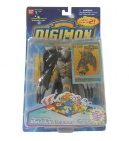 Digimon Black WarGreymon Agumon Digivolving Figure