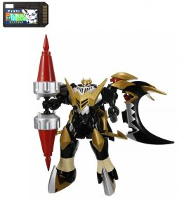 Digimon Xros Wars Series 7 Skull Knightmon and Deadly Axemon