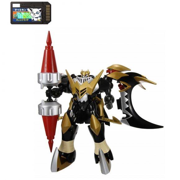 Digimon Xros Wars Series 7 Skull Knightmon and Deadly Axemon