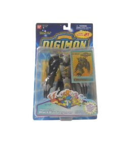 Digimon Black WarGreymon Agumon Digivolving Figure (1)