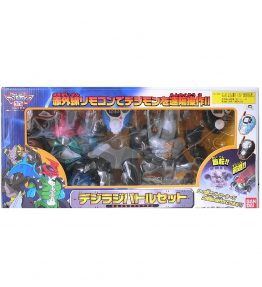 Digiradi Battle Set Paildramon VS Black WarGreymon (1)