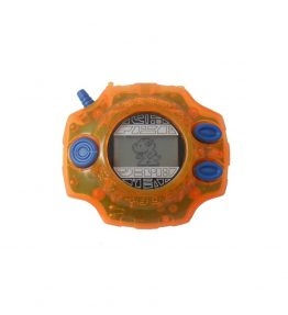 Bandai 1999 Original Digivice D2 US Version 1.0 Orange Color (1)