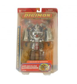 Digimon Black MegaGargomon Terriermon Warp-Digivolving Figure (1)