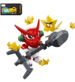 Digimon Xros Wars Series 1 Shoutmon Starmons Set