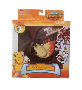 Digimon Savers Digivolving Peckmon to Crowmon (1)