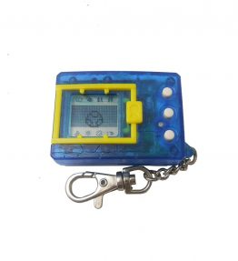 Bandai Digital Monster 1997 Version 4 Clear Blue (1)