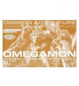 Digimon Reboot Omegamon Clear Special Color Version