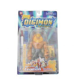 Digimon Tamers Digivolving Leomon SaberLeomon (1)
