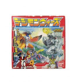 Digimon Wars Omegamon VS Diaboromon Diorama Set (1)