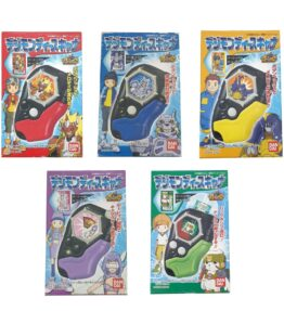 Digimon Frontier D-Scanner Ramune Candy Toys Set (1)