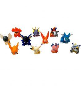 Digimon Mini Figures Set of 11 Digimon Adventure (1)