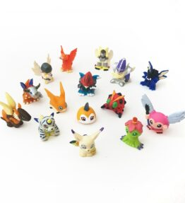 Digimon Mini Figures Set of 15 Digimon Adventure (1)