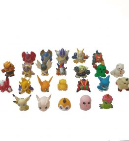 Digimon Mini Figures Set of 25 etc (1)