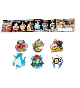 Digimon Adventure 02 Flash Swing Set of 6 Gashapon (01)