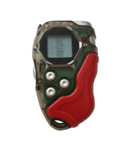 Bandai Digivice D-tector Version 2 Clear Red Pixel USED 6 (1)