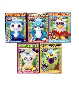 Digimon Friend Digimon Adventure 02 Set Veemon Hawkmon Wormmon Tailmon