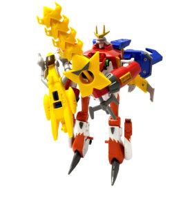 Digimon Xros Figures Shoutmon X5 BIB 4